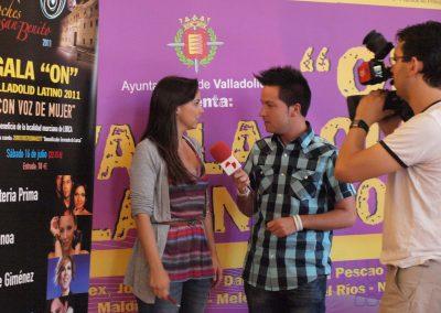 Evento 8 - Diseño y produccion de evento - On Valladolid Latino (2011)
