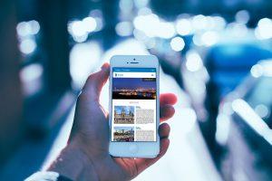 Versión móvil - Propuesta de diseño web para el portal web de la Diputación de A Coruña