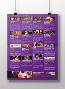"""Programa reverso - campaña de publicidad - XXXIV Festival Internacional del Títere """"Ciudad de Cádiz"""""""
