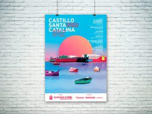 Propuesta alternativa - Campaña de publicidad - Conciertos de Verano - Castillo Santa Catalina (Julio-Agosto 2017)