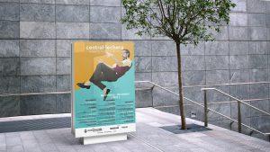 Mupi - Campaña de publicidad - Sala Central Lechera (Septiembre-Diciembre 2017)