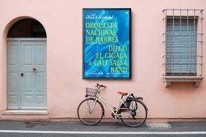 Cartel alternativo - campaña de publicidad - Conciertos en la Catedral (2017)