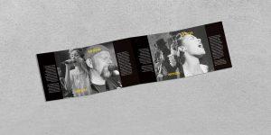 Cuadríptico abierto interior - Propuesta de campaña de publicidad - 13º Festival de Jazz de Castilla y León 2018