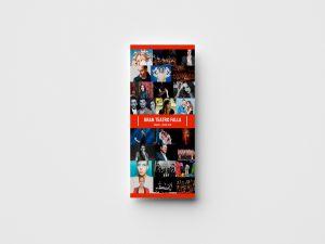 Folleto - Diseño de imagen de evento - Gran Teatro Falla (Marzo - Junio 2018)