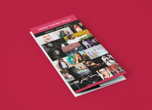 Folleto portada - Campaña de publicidad - Gran Teatro Falla (Marzo - Junio 2017)