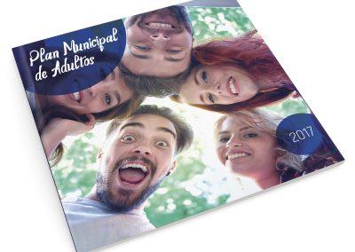 Propuesta de diseño editorial – Plan Municipal de Adultos 2017