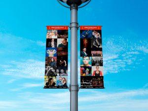 Lonas - Campaña de publicidad - Gran Teatro Falla (Marzo - Junio 2018)