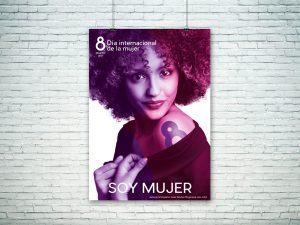 Cartel - Propuesta campaña de publicidad - Día Internacional de la Mujer (Valladolid)(2018)