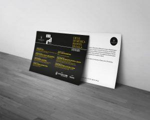Postal - Campaña de publicidad - Ciclo de música - Manuel de Falla 2018