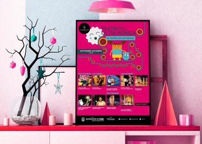 Campaña de publicidad – Teatro del Títere – La Tía Norica (Septiembre – Diciembre 2018)