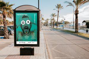 Mupi - campaña de publicidad - Sala Central Lechera (Octubre - Diciembre 2018)
