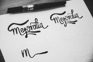 Bocetos 2 - Diseño de identidad visual corporativa - Logotipo Mejoralia