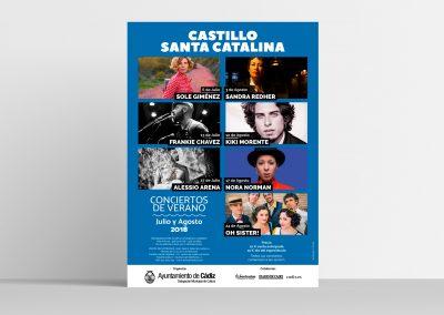 Campaña de publicidad – Castillo Santa Catalina 2018