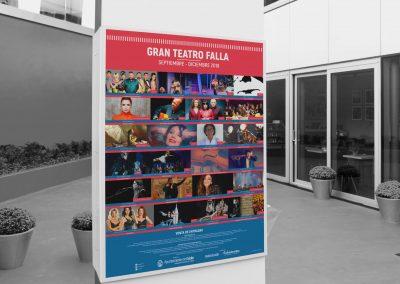 Campaña de publicidad – Gran Teatro Falla (Septiembre – Diciembre 2018)