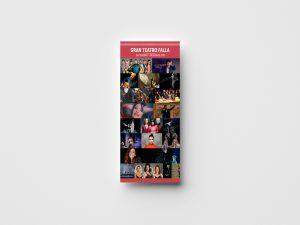 Folleto -campaña de publicidad - Gran Teatro Falla (Septiembre - Diciembre 2018)