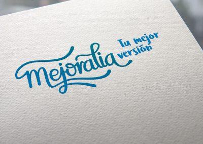 Diseño de identidad visual corporativa – Logotipo Mejoralia