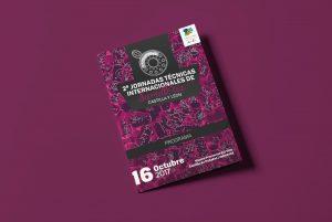 Programa portada - Campaña de publicidad - 2º Jornadas Técnicas Internacionales de Sumillería - Castilla y León