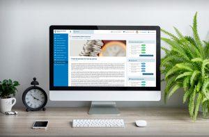 Detalle simple (PC) - Diseño web - Intranet Tribunal de Cuentas de Madrid