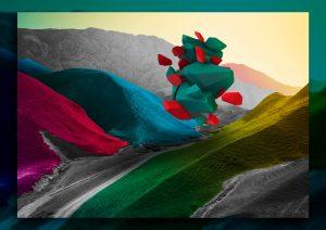 Diseño digital - Propuesta portada PowerPoint CRM Transformación Digital Neoris