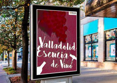 Campaña de publicidad – Valladolid Esencia de Vino