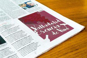Robapaginas - Campaña de publicidad - Valladolid Esencia de Vino