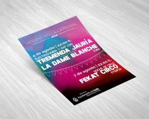 Volatina - campaña de publicidad - Verano en la Catedral 2018