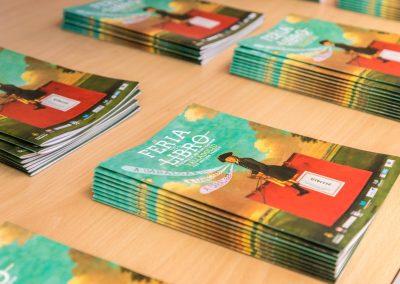 """Programa 1 - Diseño editorial - Maquetación de los soportes """"Feria del Libro de Valladolid 2019"""""""