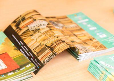 """Programa 2 - Diseño editorial - Maquetación de los soportes """"Feria del Libro de Valladolid 2019"""""""