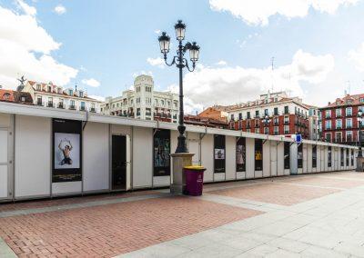 """Vinilos concurso fotografía 3 - Diseño editorial - Maquetación de los soportes """"Feria del Libro de Valladolid 2019"""""""