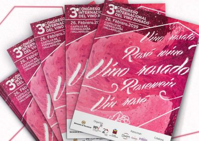Campaña publicitaria – 3º Congreso Internacional del Vino Rosado