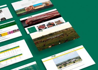 Diseño web – Cooperativa ganadera Dehesa Grande
