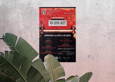 Diseño publicitario – Festival 14º Jazz Valladolid 2019